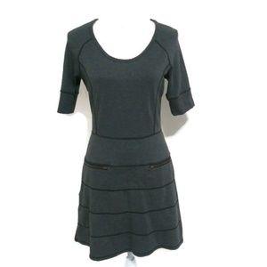 NWOT ATHLETA Strata Travel Dress Grey S